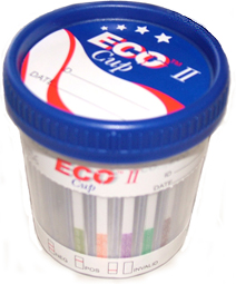 10 Panel EcoII Cup Drug Test w/Adulteration