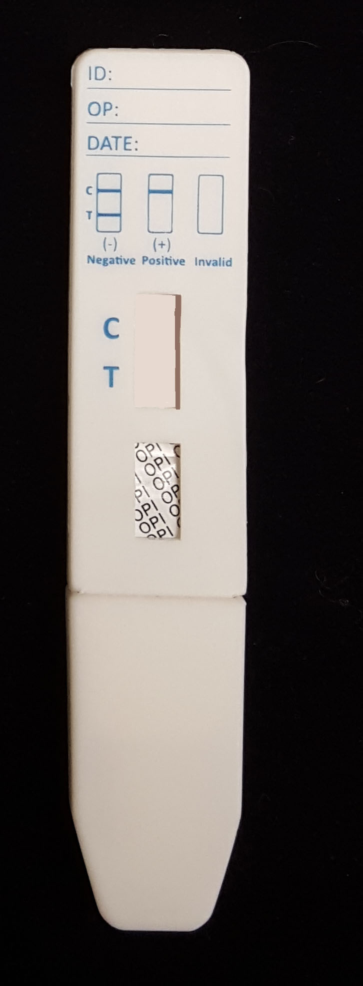 Opiates (OPI) Oral Saliva Drug Test