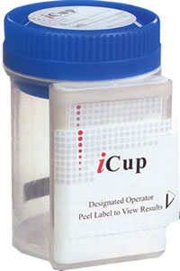 5 Panel iCup Drug Test Cup